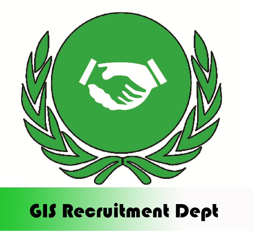 GIS Recruitment Department